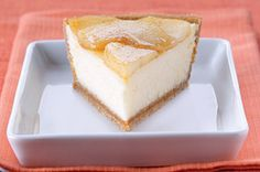 PHILADELPHIA® 3-STEP® Apple Cinnamon Cheesecake recipe