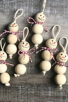 Want some incredible and easy Christmas ornaments to make and sell for some extra cash this Christmas? Look no further than these proven popular ideas! Easy Christmas Ornaments, Christmas Crafts To Make, Simple Christmas, Kids Christmas, Handmade Christmas, Holiday Crafts, Christmas Decorations, Snowman Ornaments, Ornaments Ideas