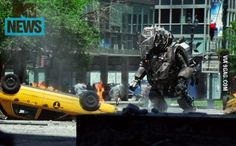 Best look yet at The Rhino in Amazing Spider-Man 2