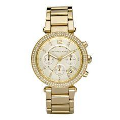 Michael Kors Crystal Chronograph Ladies Watch