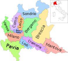 È una regione dell'Italia nord-occidentale con 12 provincie.  È la regione più popolosa d'Italia ed anche quella col maggior numero di province e comuni. Ha il suo capoluogo nella città di Milano e confina a nord con la Svizzera, a ovest col Piemonte, a est con il Veneto e il Trentino-Alto Adige e a sud con l'Emilia-Romagna.  La superficie della Lombardia si divide quasi equamente tra pianura e le zone montuose.
