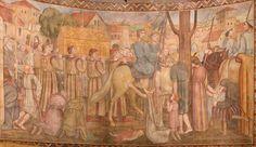 File:Cathedrale SG Nanterre, fresque de la procession des ardents (Paul Lemasson, 1927).jpg