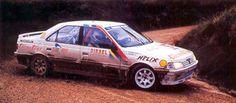 Andrea Aghini Peugeot 405 MI16 San Remo 1989
