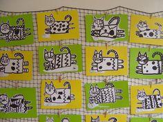 Grade 1 Art, First Grade Art, Art Lessons For Kids, Art For Kids, Kindergarten Art Lessons, Animal Art Projects, Painting Activities, Art Lesson Plans, Art Classroom