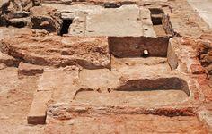 Les bains de Tell el-Fara'in/Bouto (Égypte)   Balneorient