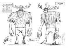 TonyTony Chopper / Tony Tony Chopper Monster Point sheet, Character design, Official reference, Settei