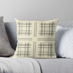 Buy Pillows, Throw Pillows, Cozy House, Bright, Abstract, Pattern, Home, Decor, Summary