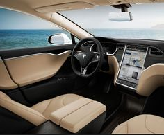 """""""The future starts today, not tomorrow."""" Step inside the future by clicking on the image. #Tesla #FutureTech"""
