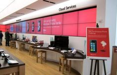 What the new Microsoft Store at The Domain looks like (lots of other pics inside)