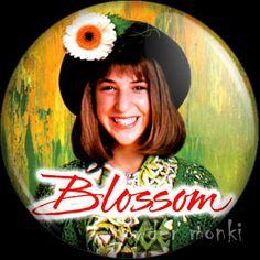 Retro Kids TV Badge/Magnet - Blossom ~ www.powdermonki.co.uk ~