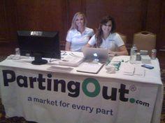 At the TARA convention in San Antonio, TX    Left: Kalli Fullerton PartingOut, CSO  Right: Constance Fullerton PartingOut, Event Coordinator