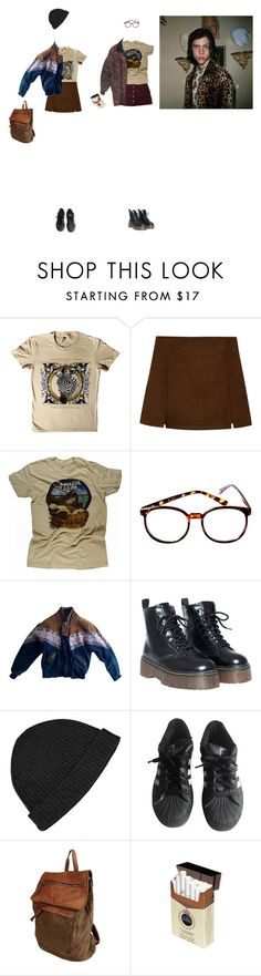 """FATE"" by bloss-em ❤ liked on Polyvore featuring Retrò, fred flare, Vintage, T By Alexander Wang, adidas and Studio Moda"
