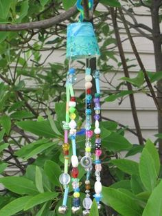Homemade Wind Chimes  -  Great Ideas for Kids