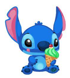 Stitch by Tsuki-Yue on DeviantArt Cute Disney Characters, Fictional Characters, Disney Art, Smurfs, Sonic The Hedgehog, Deviantart, Wallpaper, Disney Stitch, Angel