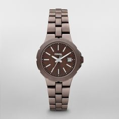 AM4403 - Sylvia Stainless Steel Watch – Brown - $115