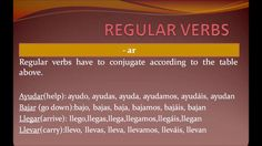 Spanish present tense  get to know regular and irregular verbs. i tell you how to conjugate and pronounciate them. #present #tense #presente #regular #irregular #verbs #conjugation #pronounciation