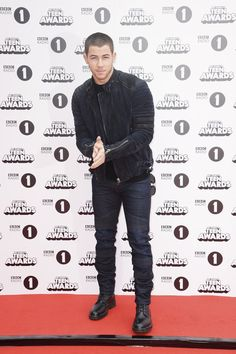 Pin for Later: Nick Jonas Shows Off His Smouldering Good Looks at the BBC Radio 1 Teen Awards