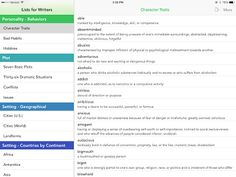SpeechTechie: Lists for Writers Apps- Useful resource for SLPs! Pinned by SOS Inc. Resources. Follow all our boards at pinterest.com/sostherapy/ for therapy resources.
