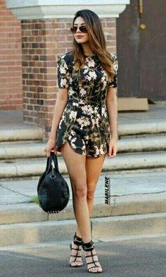 summer look 2015 Fashion Mode, Look Fashion, Street Fashion, Girl Fashion, Womens Fashion, Fashion 2015, Trendy Fashion, Floral Fashion, Fashion Heels