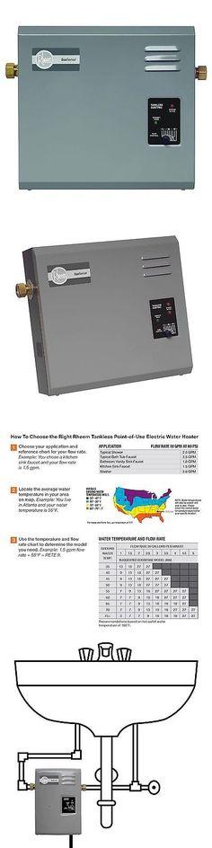 Carpet Steamers 79656: [No1] Rheem Rete 18 Rete-18 - 18Kw 2.73 Gpm Tankless Electric Water Heater -> BUY IT NOW ONLY: $319.95 on eBay!