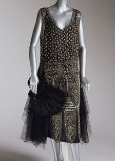 Evening dress, 1925 From the Philadelphia Museum of Art