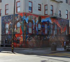 Another masterpiece in San Francisco's Mission District