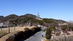 Chunghon Tower Busan South Korea, Tower, Park, Rook, Lathe, Parks, Building