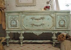 Mod Vintage Life: Jacobean Buffets or Sideboards