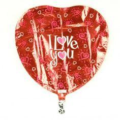 MYLAR BALLOON I LOVE YOU HEARTS X5