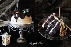 Curly Girl Kitchen: Melted Witch Cake for Halloween