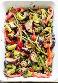 Pieczone warzywa-przepis na warzywa-codojedzenia.pl-blog kulinarny