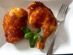 Kurcze pieczone w pysznej marynacie - Blog z apetytem Polish Recipes, Tandoori Chicken, Bon Appetit, Chicken Wings, Poultry, Food And Drink, Meat, Baking, Dinner
