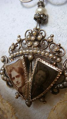 Archive Victorian Mourning Necklace.