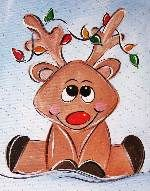 Sips N Strokes has too many cute holiday paintings!
