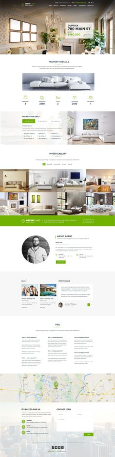 DREAM LAND- Single Property Real Estate WordPress Theme > We have created the theme with real life experience. With 2 types of headers, One page and Multipage. Right fit for Selling your Villa, Land, #Apartment, House and Raw Houses. #realestate #webdesign Download Now➝ http://themeforest.net/item/dream-land-single-property-real-estate-wordpress-theme/14485863?ref=Datasata
