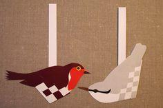 Flettede fugle