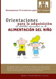 Orientaciones generales para la adquisición de hábitos adecuados en la alimentación del niño