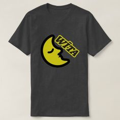 Text in Tasmanian: wīta and a yellow moon T-Shirt - simple clear clean design style unique diy Yellow Moon, Black N Yellow, Tasmania, Foreign Words, Simple Shirts, Dark Colors, Tshirt Colors, Fitness Models, Casual