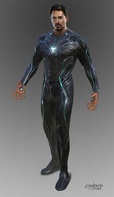 Avengers: Infinity War - Iron Man Mk 50 suit-up, Phil Saunders Marvel Dc, Marvel Comics, Marvel Heroes, Iron Man Art, Iron Man Wallpaper, Ironman, Iron Man Tony Stark, Marvel Characters, Marvel Cinematic