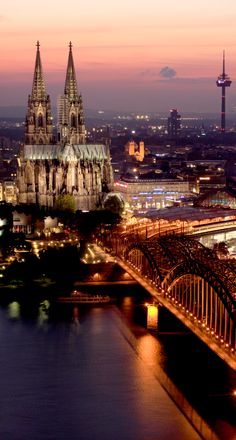 Cologne, Germany. ♥ Stunning, classic jewelry: www.bluedivadesigns.com #bluedivagal