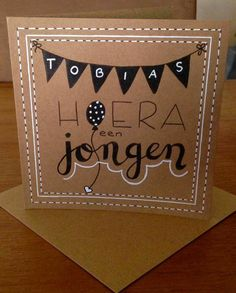 Diy Cards Baby, So Creative, Chalkboard, Boy Or Girl, Diy And Crafts, Doodles, Bullet Journal, Calligraphy, Letters