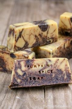 After 24 hours, you can begin to gently unmold your soap, and cut your bars into your desired shapes.