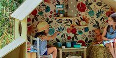 Une cabane de jeu pliable pour les enfants