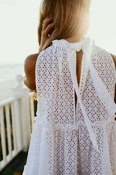 maison du maillot tiered eyelet dress how to style an eyelet dress how to wear an eyelet dress summer fashion summer style fashion for summer style ideas for summer warm weather fashion fashion tips for summer a lonestar state of southe Diy Outfits, Mode Outfits, Summer Outfits, Fashion Outfits, Summer Dresses, Fashion Fashion, Fashion Tips, Womens Fashion, Trendy Outfits
