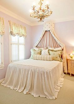 Romantic bedroom/pretty buts its missing a soul to tie it together can u guess what it is