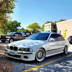 BMW E39 M5, Alpine White