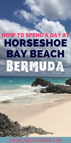 Bermuda's Horseshoe Bay Beach is famous for its pink sand and turquoise water. How to get to Horseshoe Bay from the cruise port, things to do, and how much it all costs. Plus tips on finding the most secluded areas and the prettiest secret beaches nearby! Top Cruise, Best Cruise, Cruise Port, Cruise Travel, Cruise Vacation, Summer Travel, Packing List For Cruise, Cruise Tips, Bermuda Vacations