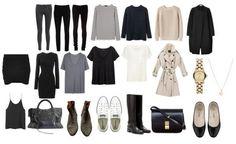 The 4-5 piece French wardrobe