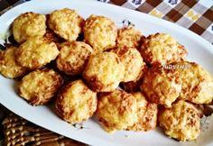 Észbontóan finom fitt sajtos korong Hungarian Recipes, Hungarian Food, Fitt, Cauliflower, Food And Drink, Appetizers, Gluten Free, Healthy Recipes, Vegetables