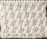 Rippled Stocking Stitch